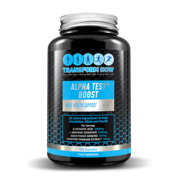 Best Testosterone Booster UK - Alpha Test Boost