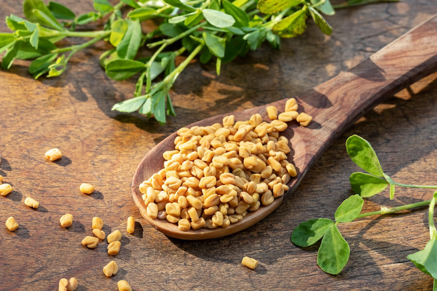 Fenugreek can support increase testosterone