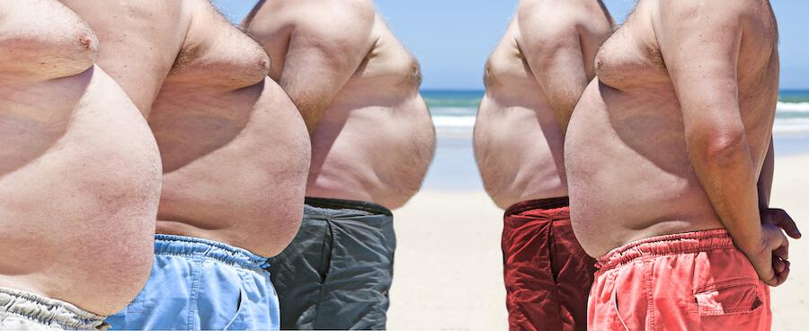 Obesity decreases testosterone