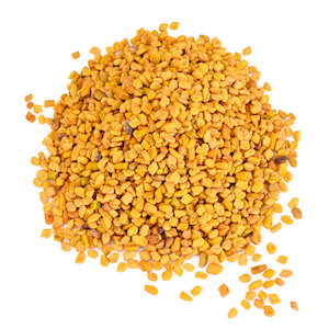 Fenugreek can increase free testosterone