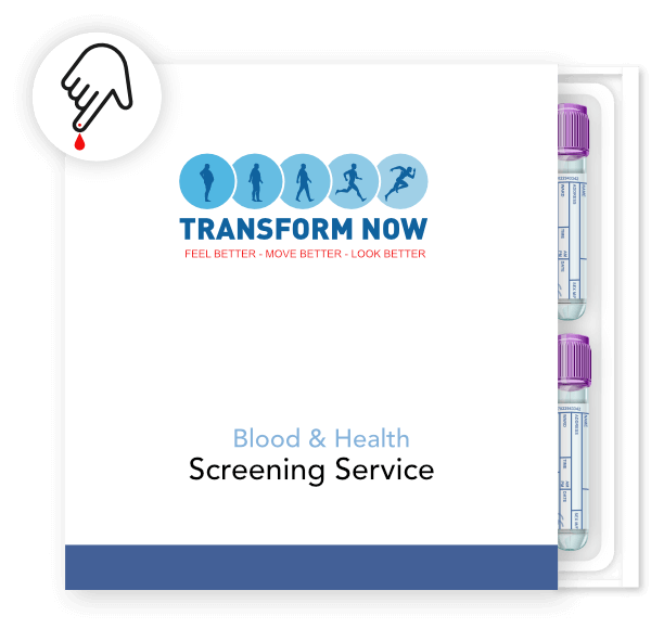 finger-prick blood test kit